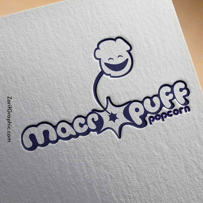 طراحی لوگو خلاقانه ماکروپف