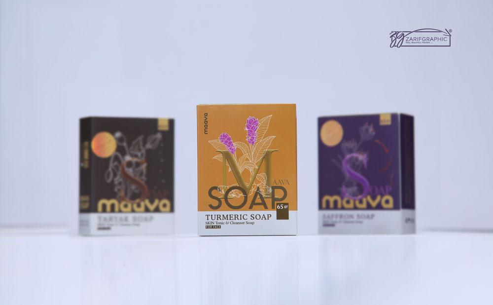 طراحی خلاقانه بسته بندی صابون گیاهی در ظریف گرافیک