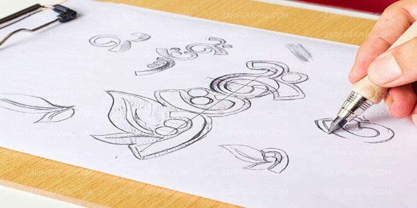 طراحی لوگو ساده