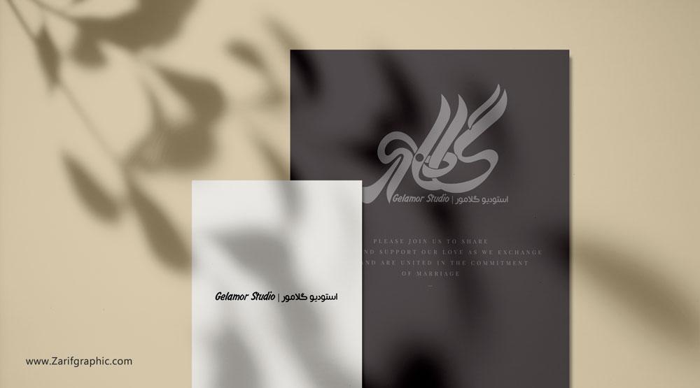 Specialized logo design of photography studio in Mashhad