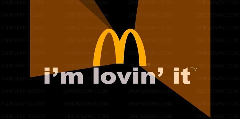 طراحی لوگو مک دونالد در سال 2003