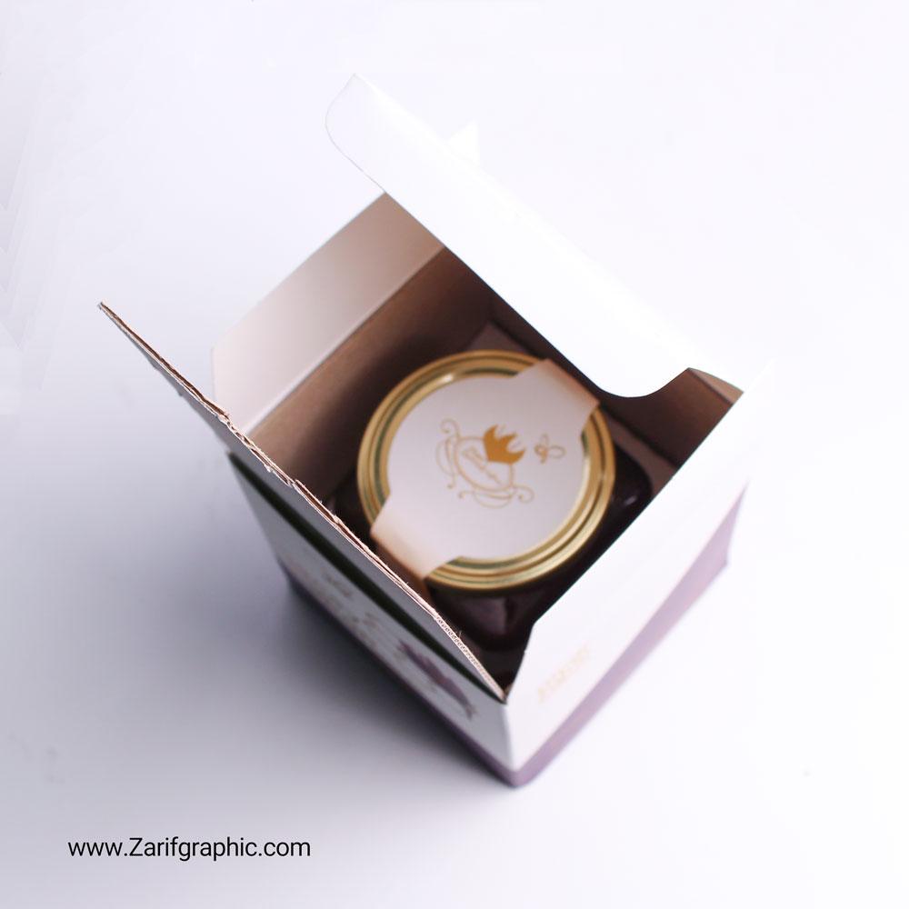 طراحی بسته بندی عسل