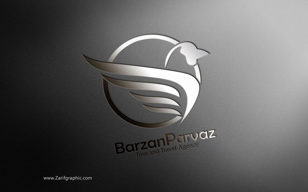 طراحی لوگو آژانس در ظریف گرافیک