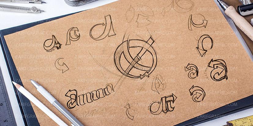 طراحی لوگو حرفه ای خلاقانه