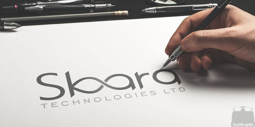 طراحی لوگو حرفه ای ظریف گرافیک