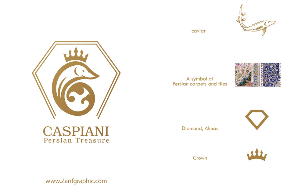 Logo design of luxury goods in Mashhad
