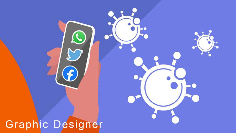 اثر کرونا شبکه های اجتماعی