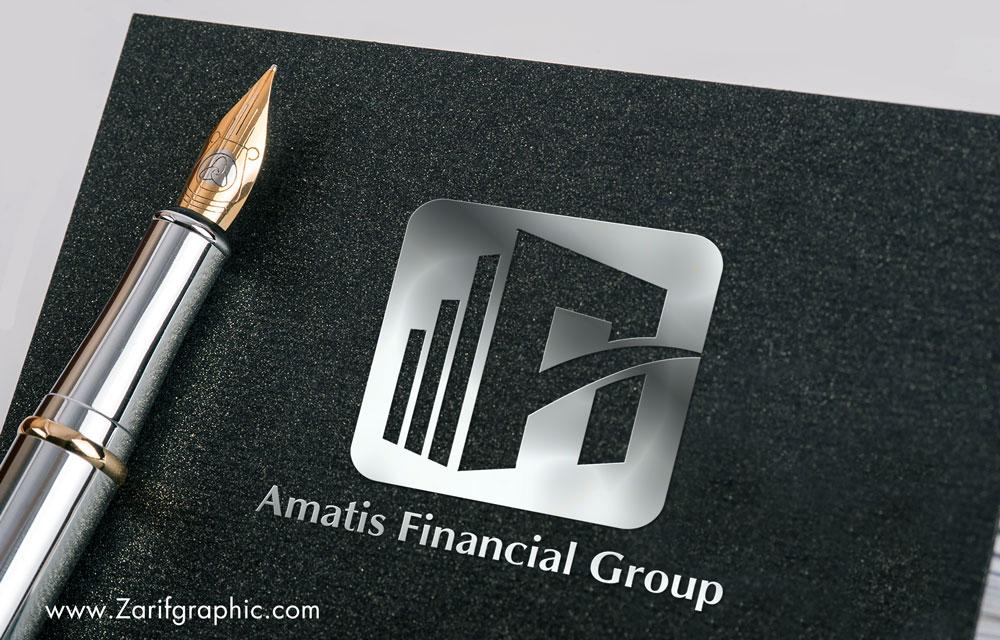طراحی خلاقانه لوگو شرکت حسابداری