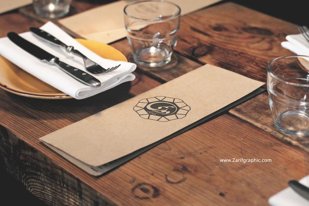 طراحی حرفه ای لوگو رستوران و کافه در مشهد
