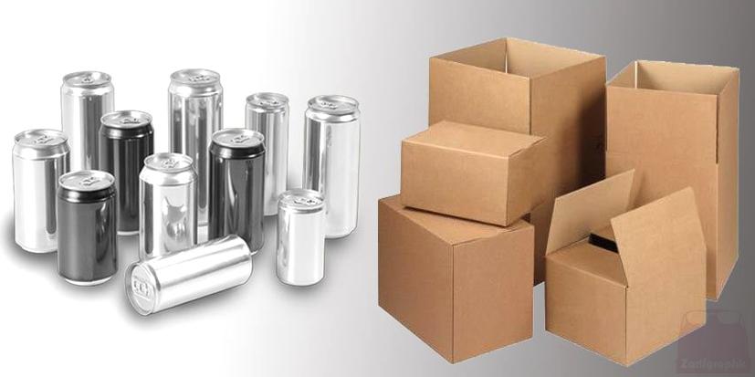 طراحی قالب بسته بندی محصولات