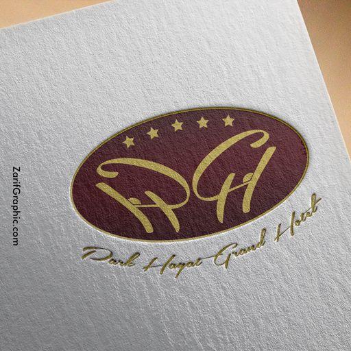 طراحی لوگو هتل پارک حیات مشهد