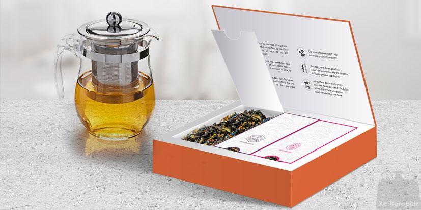 طراحی بسته بندی حرفه ای چای