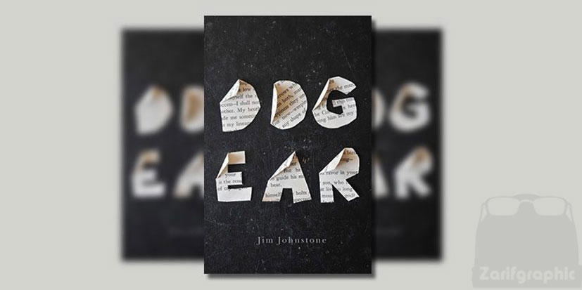 طراحی جلد کتاب dog ear