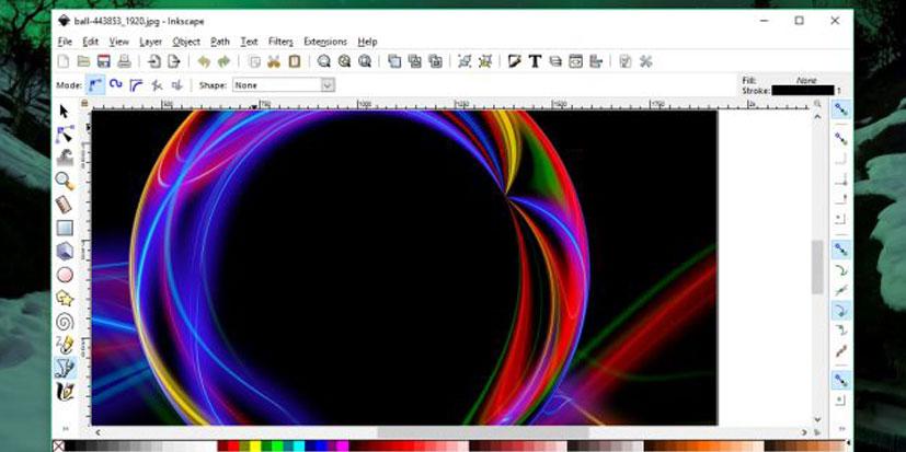 نرم افزار طراحی گرافیک inkspace