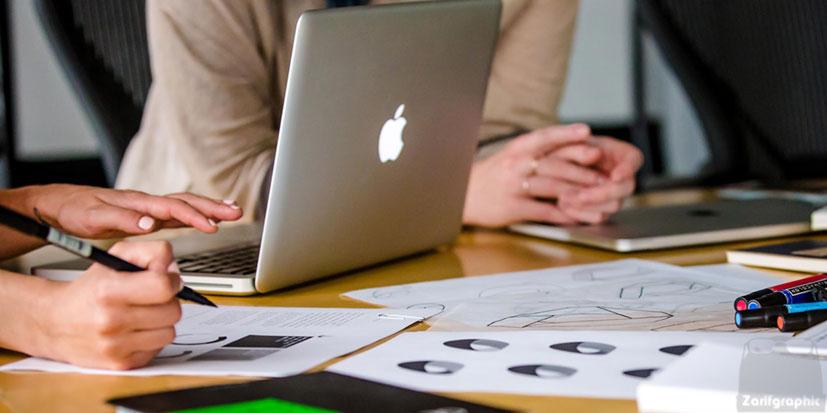 طراحی ux ظریف گرافیک