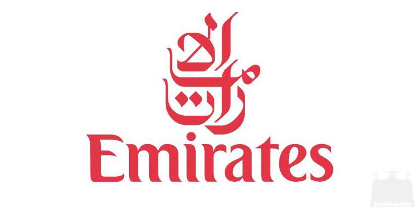طراحی لوگو ایرلاین امارات