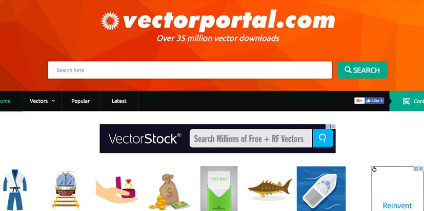 دانلود وکتور رایگان vector portal