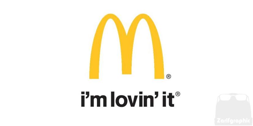 چهارمین طراحی لوگو مک دونالد