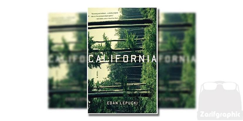 طراحی جلد کتاب کالیفرنیا