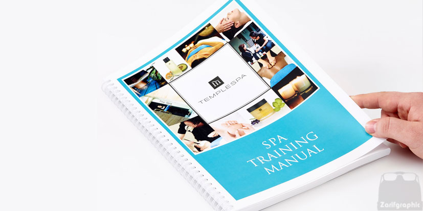 سفارش طراحی کاتالوگ ظریف گرافیک