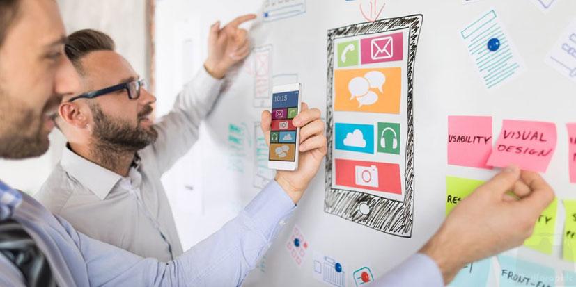 طراحی رابط کاربری ظریف گرافیک