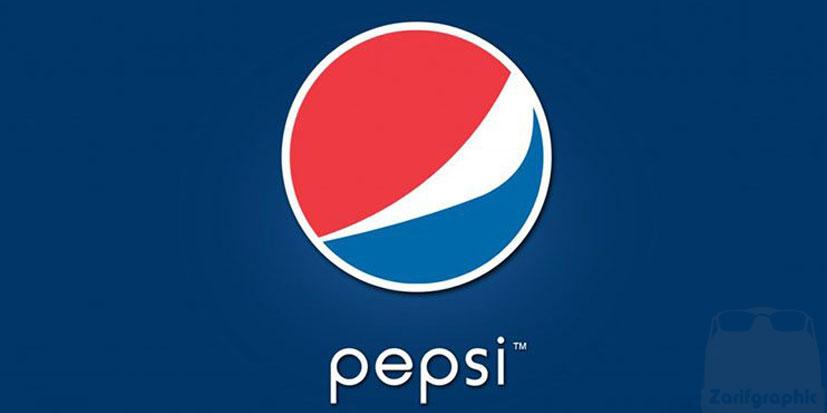 روند تغییر طراحی لوگوی پپسی