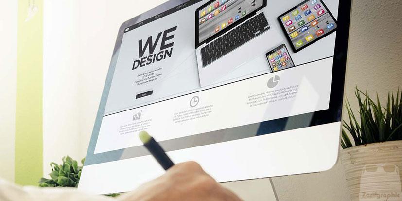 طراحی سایت تبلیغاتی خلاقانه