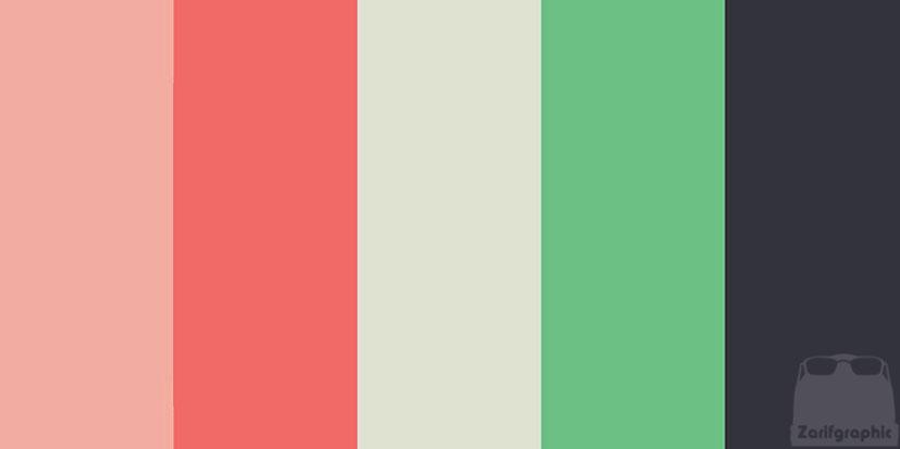 نقش رنگ در طراحی سایت