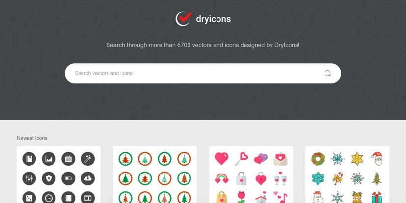 دانلود وکتور رایگان dry icon