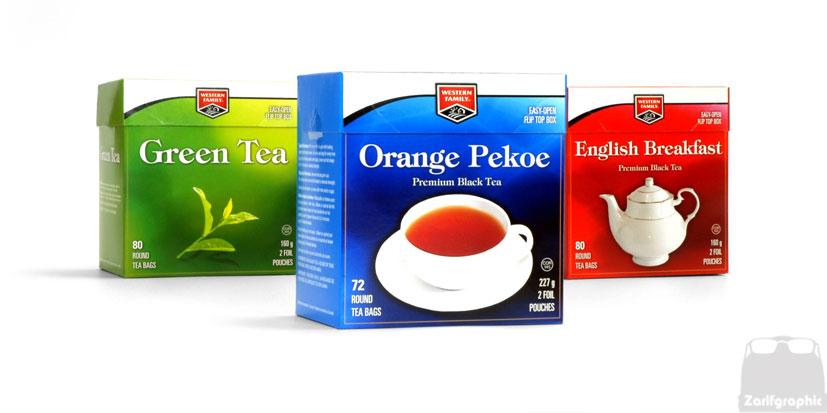 طراحی بسته بندی خلاقانه چای