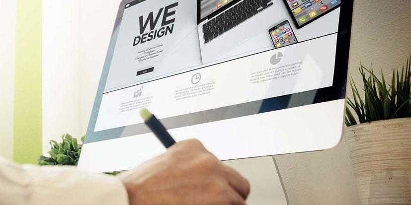 طراحی سایت ظریف گرافیک