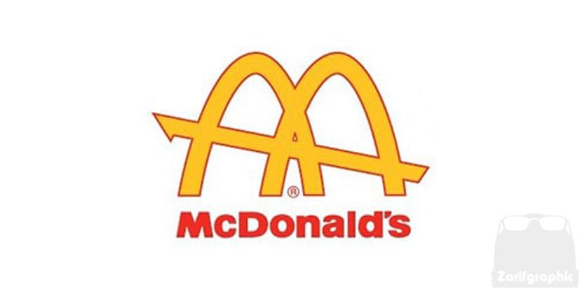 دومین طراحی لوگو مک دونالد